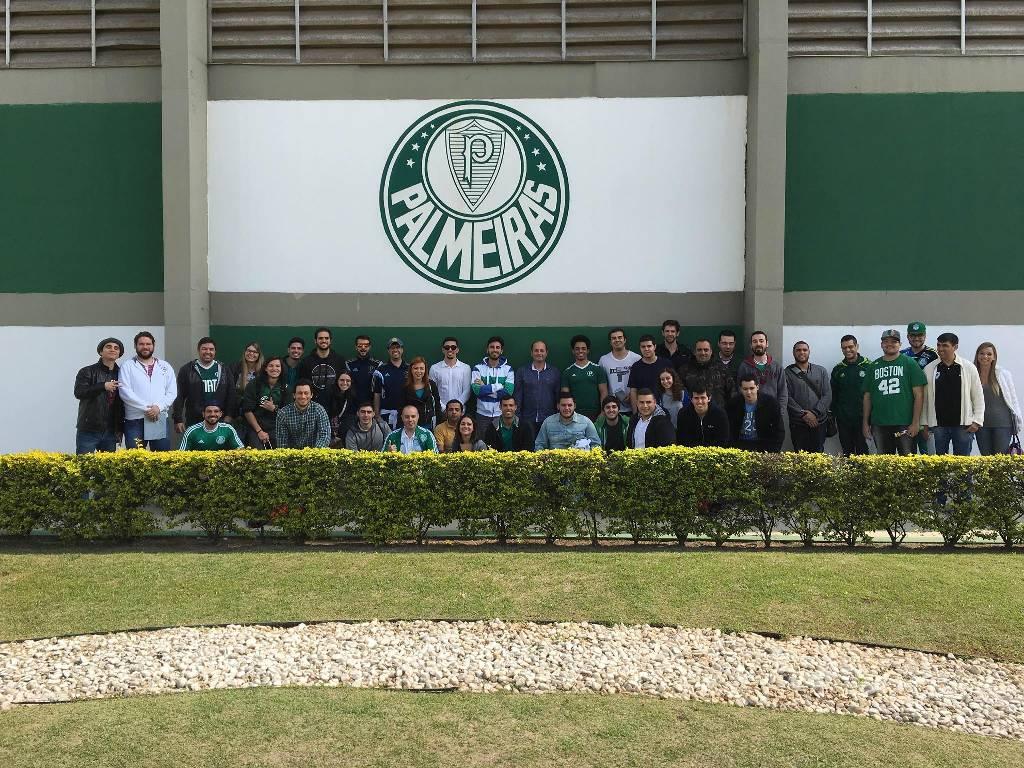 Visita técnica com palestra no CT do Palmeiras